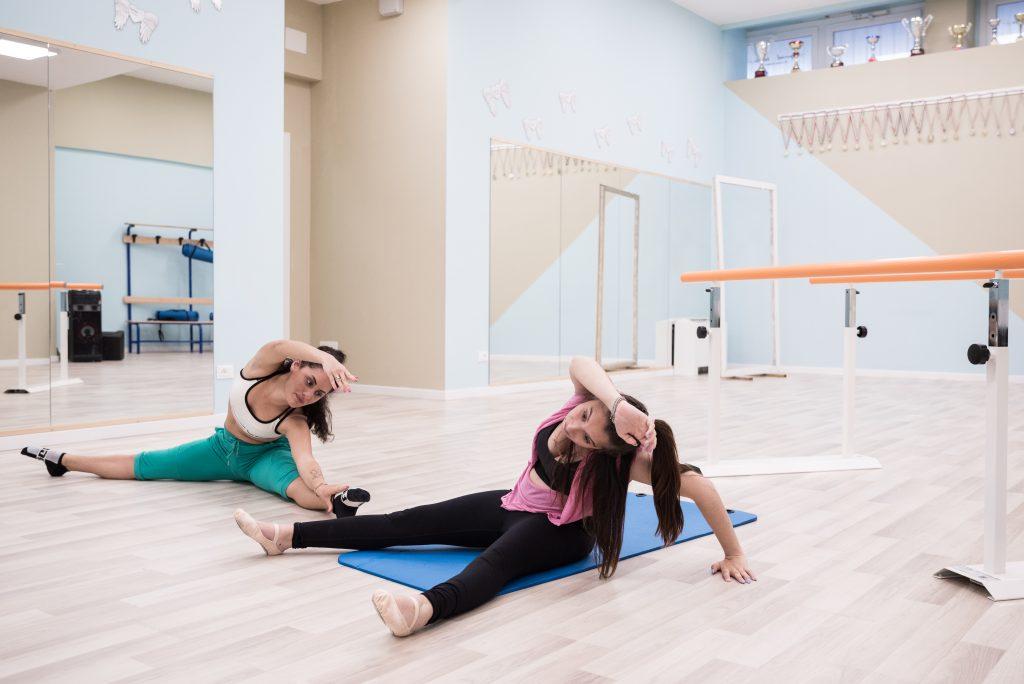 riscaldamento stretching danza classica diversamente abili